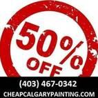 1/2 Price Pro Calgary Painting