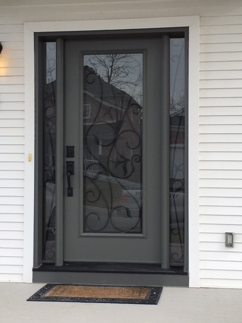 Beautiful New Front Door