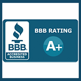 A firm you can trust...A+ rating with the Better Business Bureau