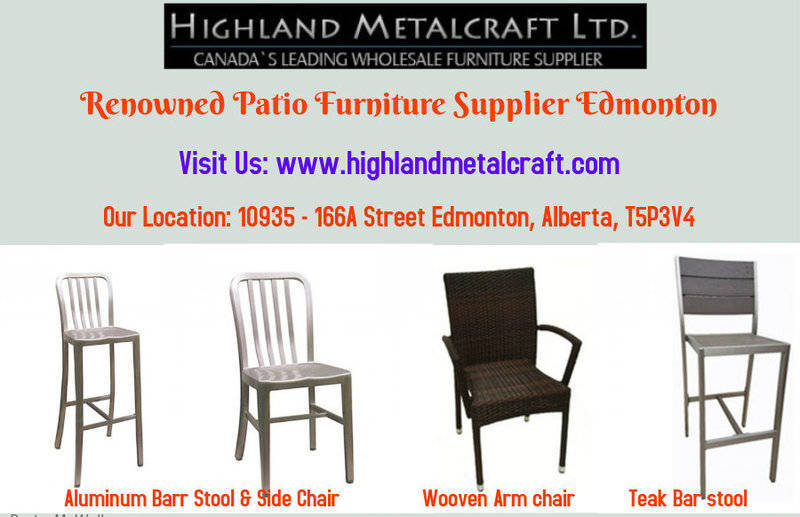 Renowned Patio Furniture Supplier Edmonto