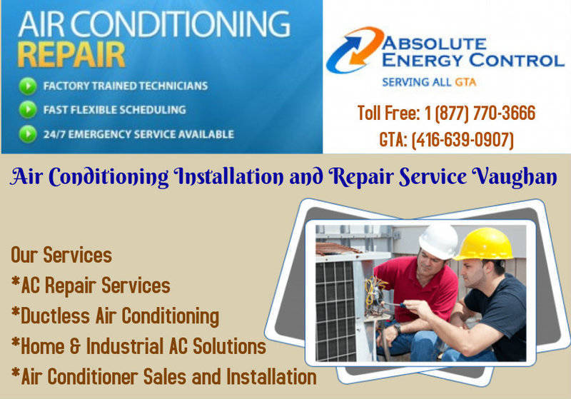 Air Conditioning Installation and Repair Service Vaughan