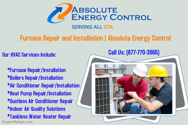 Furnace Repair and Installation Mississauga | Absolute Energy Control