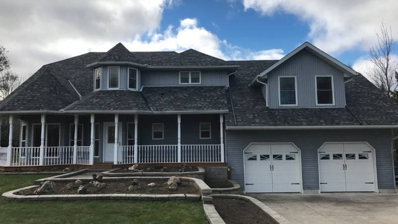 Re-roof in Guelph
