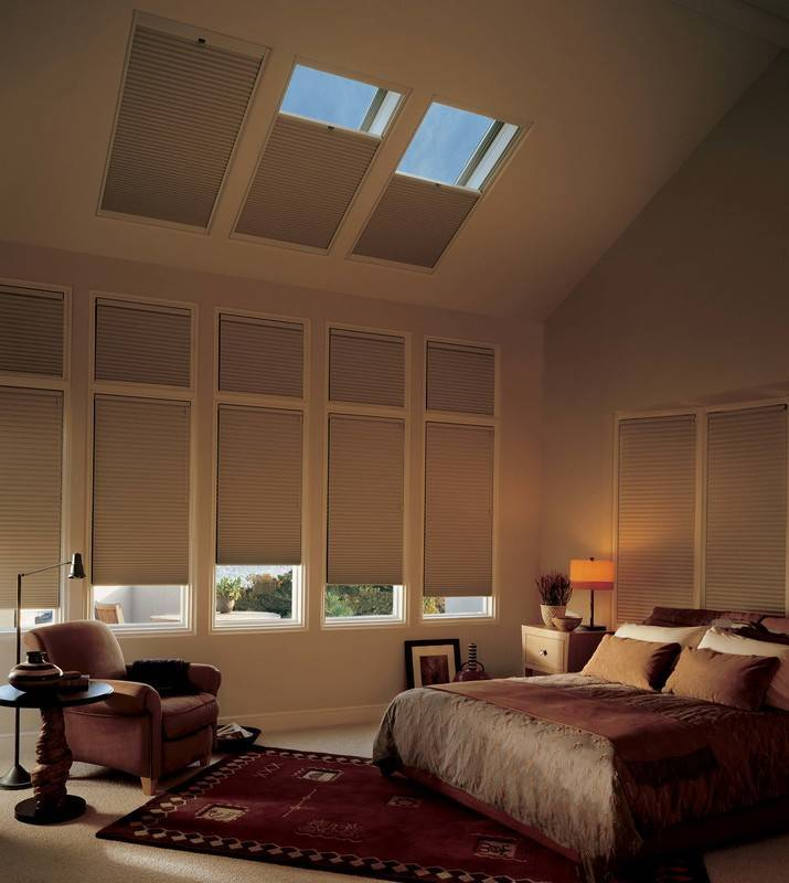 Black out blinds for your bedroom