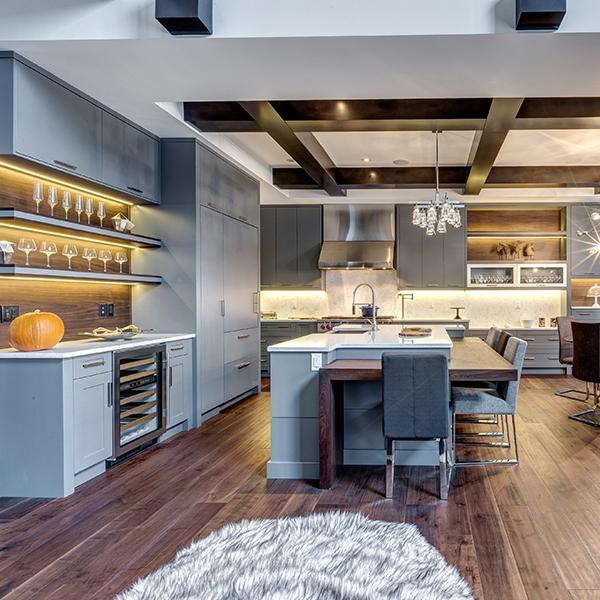 Showhome in Watermark - award winning kitchen
