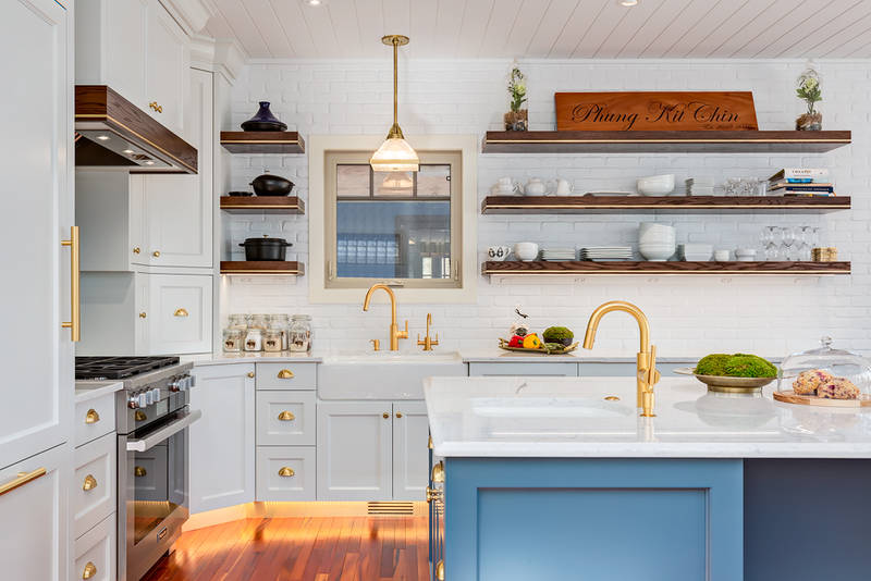2- Color Kitchen Cabinetry