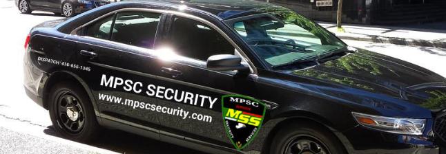 MPSC SECURITY SERVICES INC. Mobile Patrol