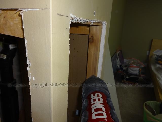 Drywall repairs/carpentry work
