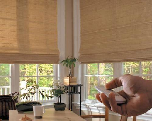 Motorized Blinds are designer's top choice to provide convenience, functionallityt and elegance.