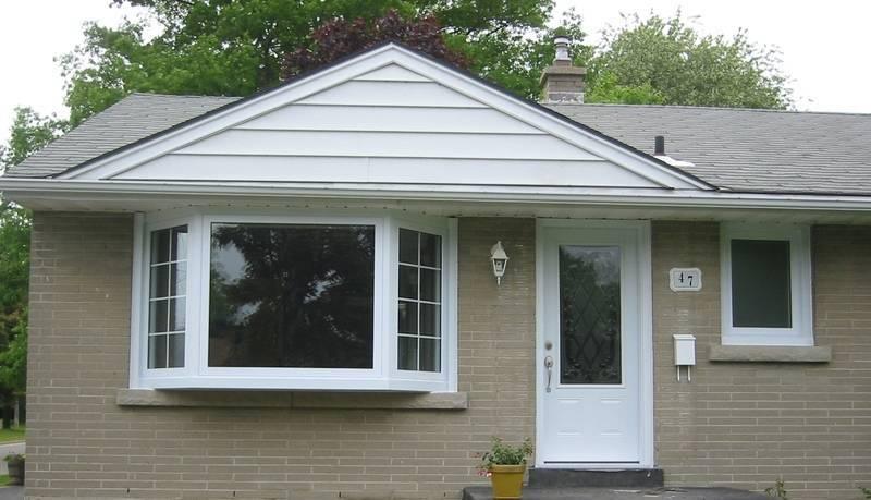Bay Window, Steel Door & Casement Window