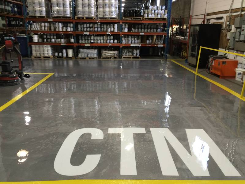 Ctm Distribution Epoxy Concrete Floor Coatings Materials