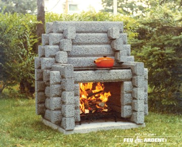 Feu Ardent fireplace 115