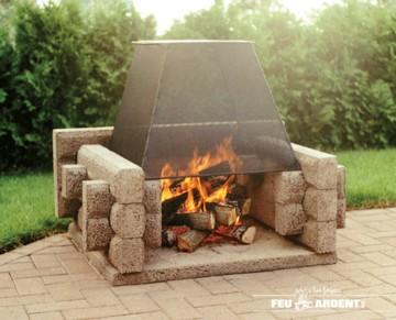 Feu Ardent fireplace Picnic