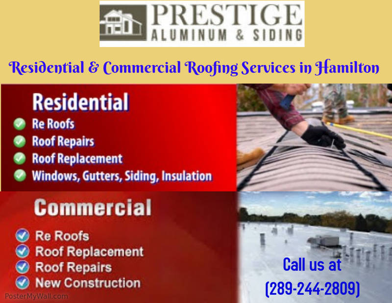 Residential & Commercial Roofing Services in Hamilton