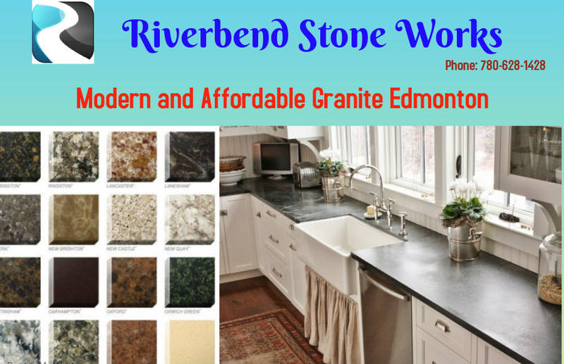 Modern and Affordable Granite Edmonton  | Riverbend Stone Works